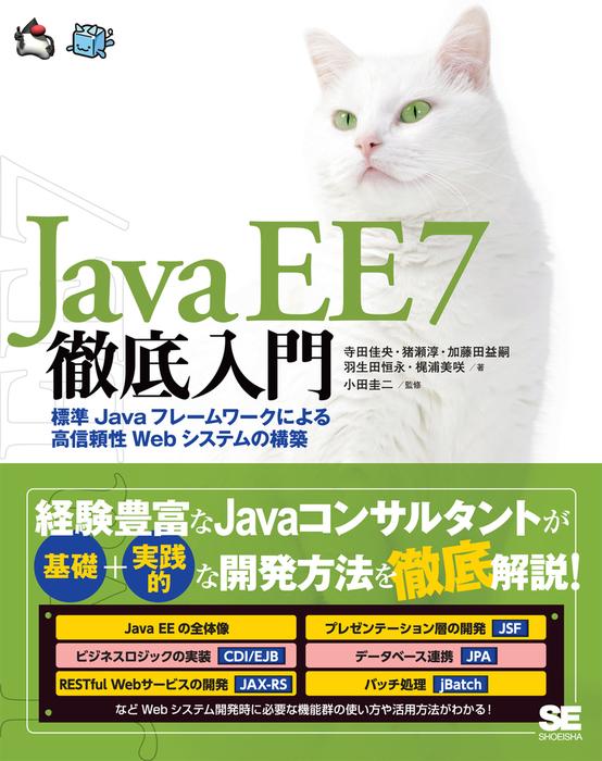 Java EE 7徹底入門 標準Javaフレームワークによる高信頼性Webシステムの構築拡大写真