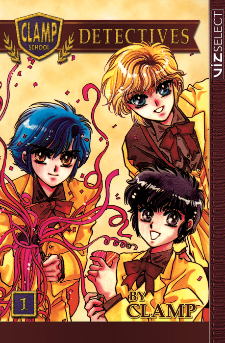 Clamp School Detectives, Vol. 1拡大写真