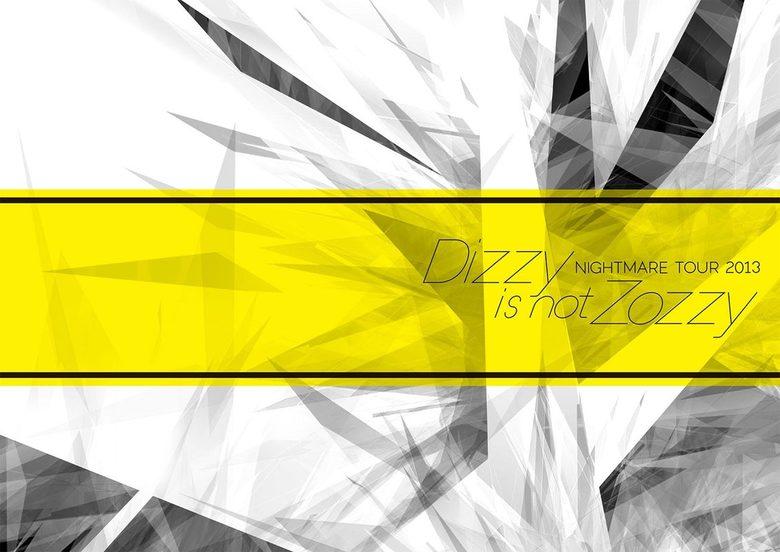 ナイトメア公式ツアーパンフレット 2013 WINTER TOUR 2013 Dizzy is not Zozzy!拡大写真