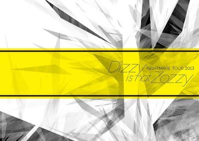 ナイトメア公式ツアーパンフレット 2013 WINTER TOUR 2013 Dizzy is not Zozzy!-電子書籍