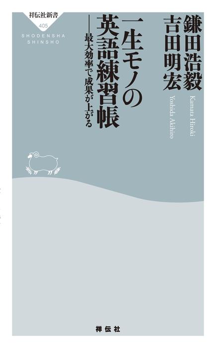 一生モノの英語練習帳-電子書籍-拡大画像