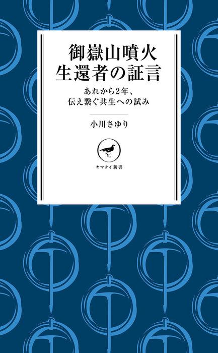 ヤマケイ新書 御嶽山噴火 生還者の証言拡大写真