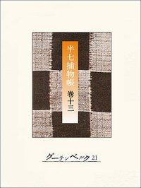 半七捕物帳 【分冊版】巻十三