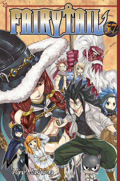 Fairy Tail Volume 57拡大写真