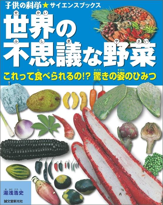 世界の不思議な野菜拡大写真