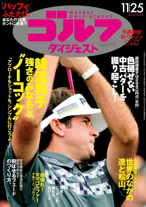 週刊ゴルフダイジェスト 2014/11/25号拡大写真