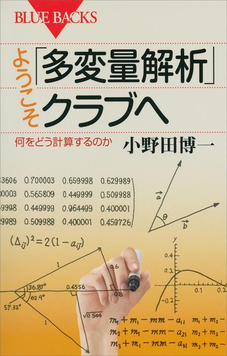 ようこそ「多変量解析」クラブへ 何をどう計算するのか拡大写真