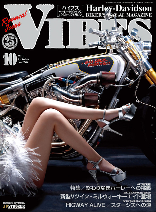 VIBES【バイブズ】2016年10月号拡大写真