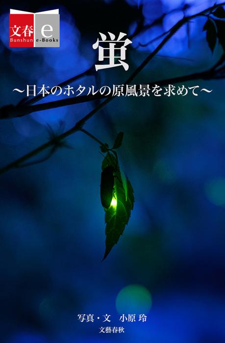 蛍 日本のホタルの原風景を求めて【文春e-Books】拡大写真