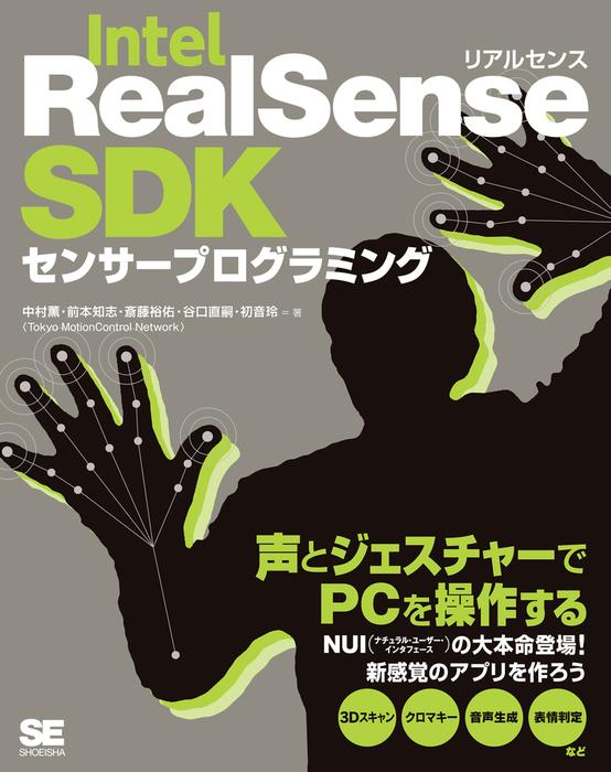 Intel RealSense SDKセンサープログラミング拡大写真