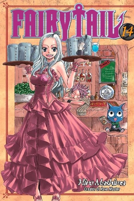 Fairy Tail 14拡大写真