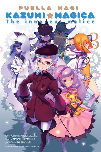 Puella Magi Kazumi Magica, Vol. 3