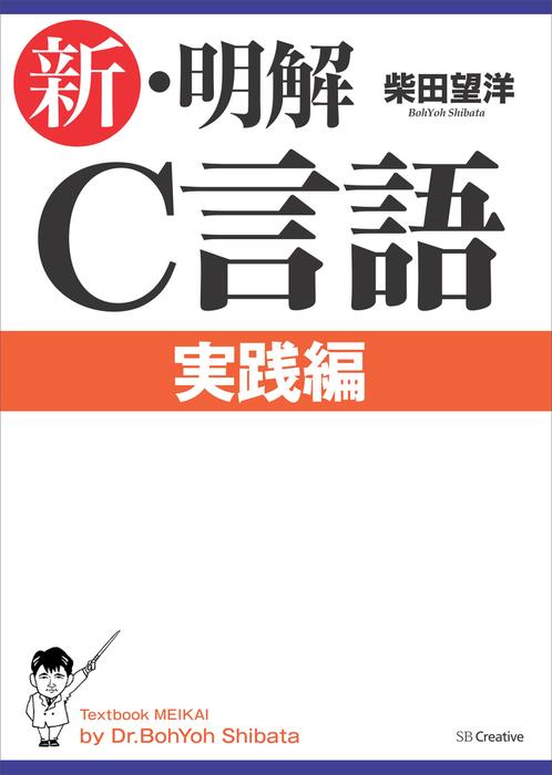 新・明解C言語 実践編拡大写真