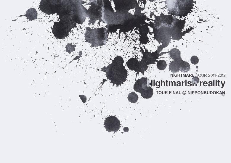 ナイトメア公式ツアーパンフレット 2011 TOUR 2011-2012 Nightmarish reality TOUR FINAL@NIPPONBUDOKAN拡大写真