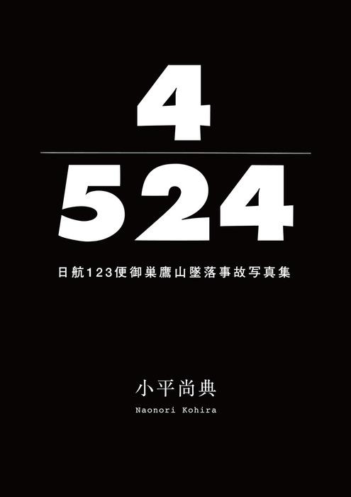 4/524 日航123便御巣鷹山墜落事故写真集拡大写真