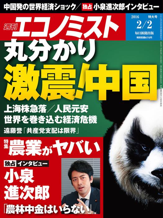 週刊エコノミスト (シュウカンエコノミスト) 2016年02月02日号拡大写真