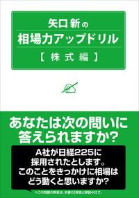 矢口新の相場力アップドリル 株式編