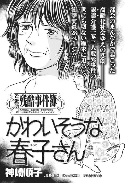 ああ!!女の残酷事件簿~かわいそうな春子さん~拡大写真