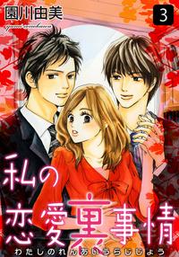 私の恋愛裏事情 3巻