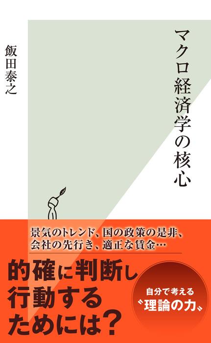 マクロ経済学の核心-電子書籍-拡大画像