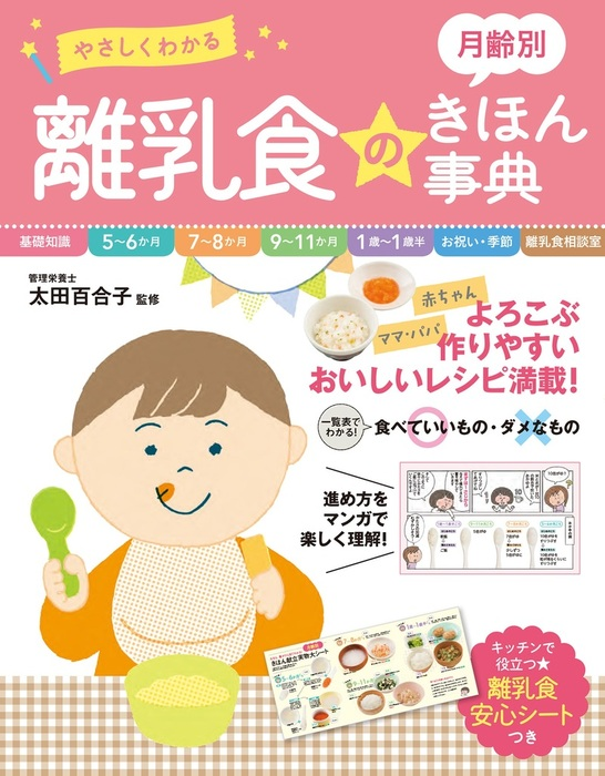 やさしくわかる 月齢別 離乳食のきほん事典-電子書籍-拡大画像