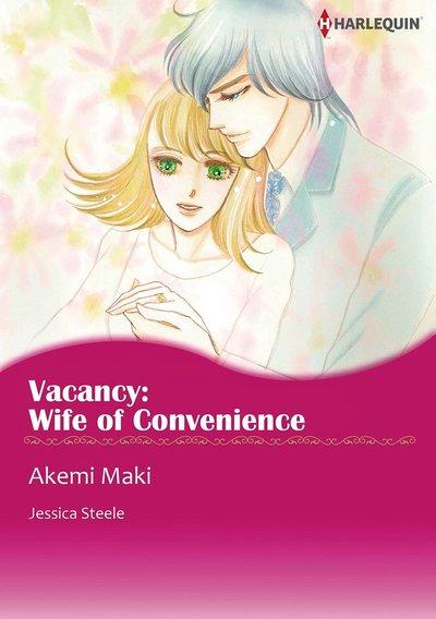 VACANCY: WIFE OF CONVENIENCE