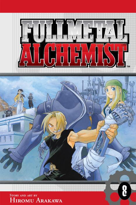 Fullmetal Alchemist, Vol. 8拡大写真