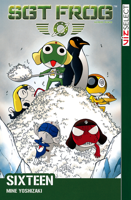 Sgt. Frog, Vol. 16拡大写真
