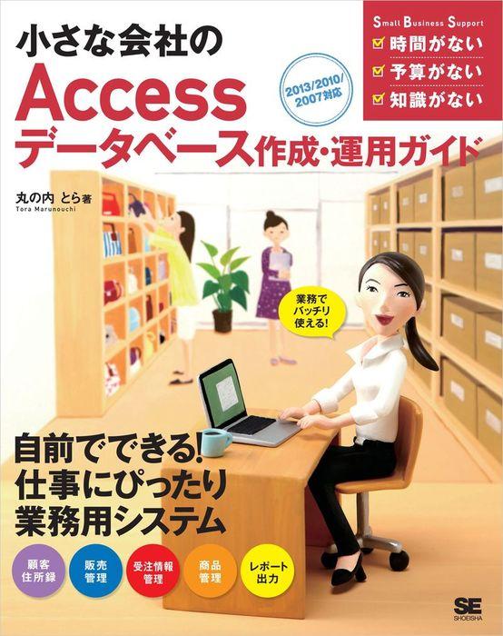 小さな会社のAccessデータベース作成・運用ガイド 2013/2010/2007対応拡大写真