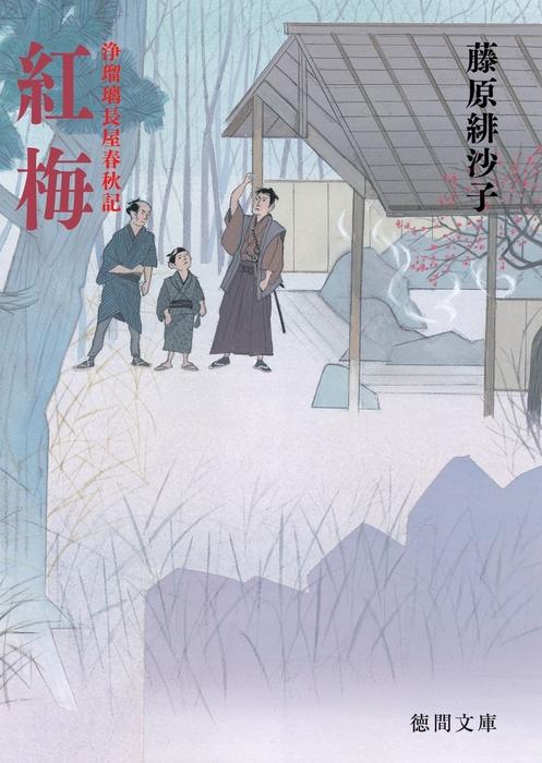浄瑠璃長屋春秋記 紅梅拡大写真