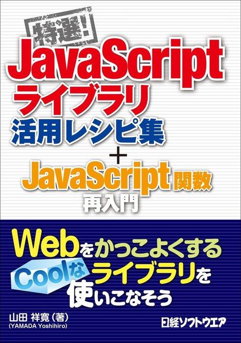 特選!JavaScriptライブラリ活用レシピ集+JavaScript関数再入門(日経BP Next ICT選書)拡大写真