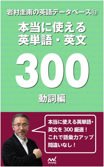 岩村圭南の英語データベース13 本当に使える英単語・英文300 動詞編拡大写真