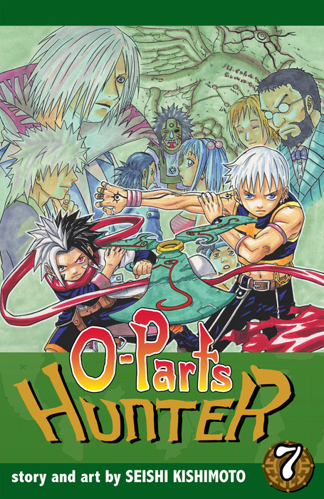 O-Parts Hunter, Vol. 7拡大写真