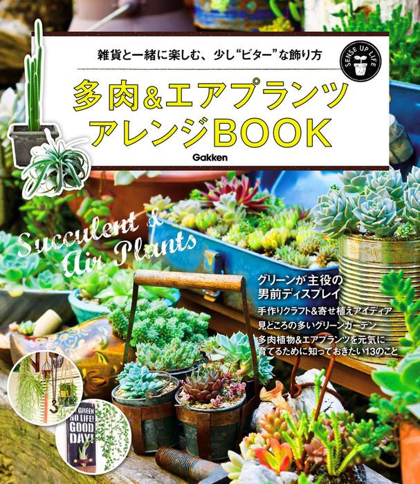 多肉&エアプランツ アレンジBOOK-電子書籍-拡大画像