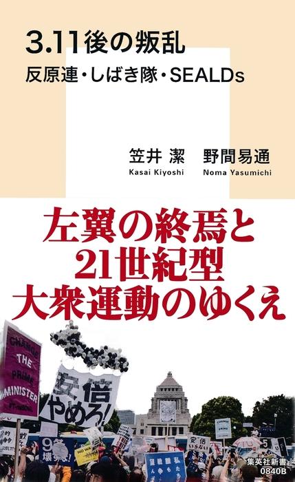 3.11後の叛乱 反原連・しばき隊・SEALDs拡大写真