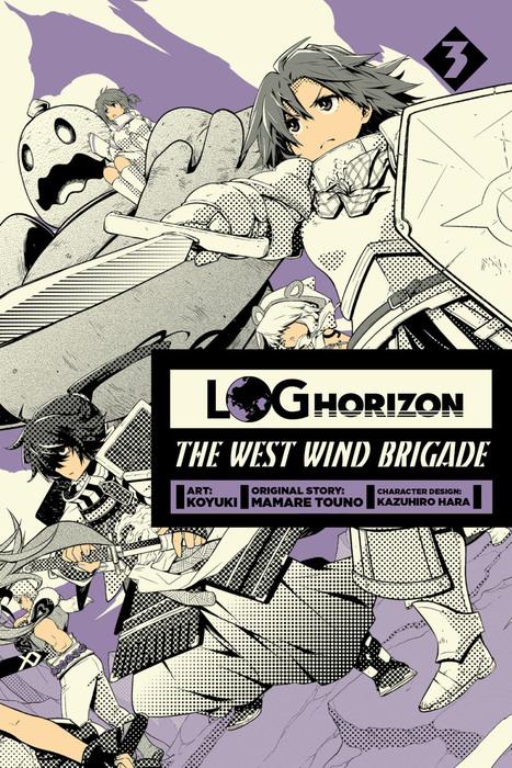 Log Horizon: The West Wind Brigade, Vol. 3-電子書籍-拡大画像