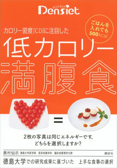 デンシエット ごはんを入れても500kcal カロリー密度[CD]に注目した 低カロリー満腹食-電子書籍
