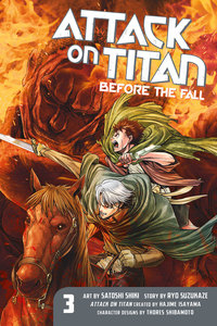 Attack on Titan: Before the Fall 3
