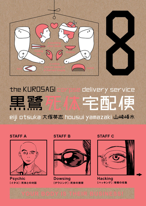 Kurosagi Corpse Delivery Service Volume 8拡大写真