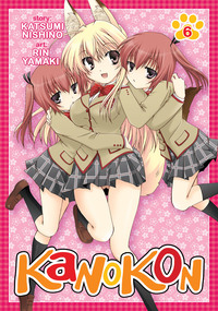 Kanokon Vol. 6-電子書籍