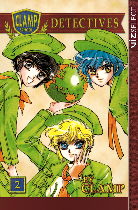 Clamp School Detectives, Vol. 2拡大写真