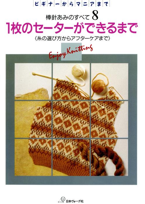 棒針あみのすべて8 1枚のセーターができるまで-電子書籍-拡大画像