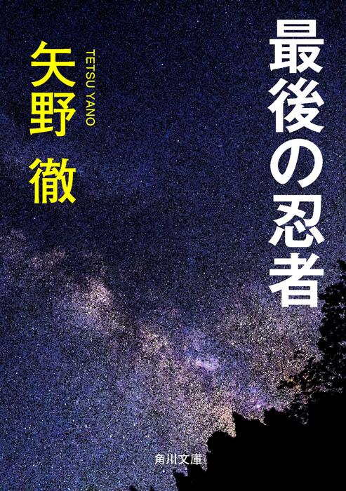最後の忍者-電子書籍-拡大画像