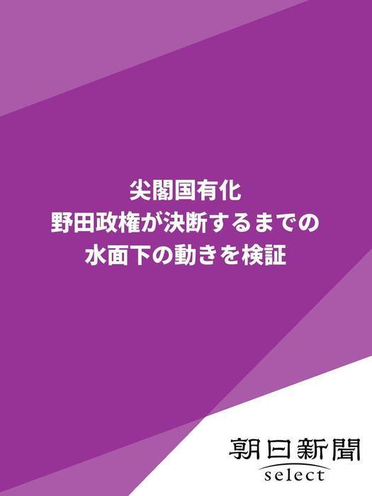尖閣国有化 野田政権が決断するまでの水面下の動きを検証-電子書籍-拡大画像