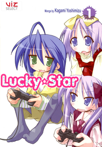 [Vol. 1-8, Bundle Set] Lucky★Star 30% OFF