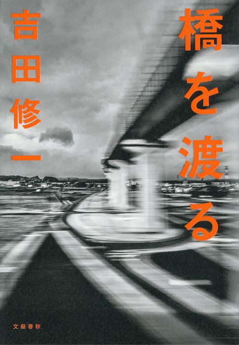 橋を渡る拡大写真