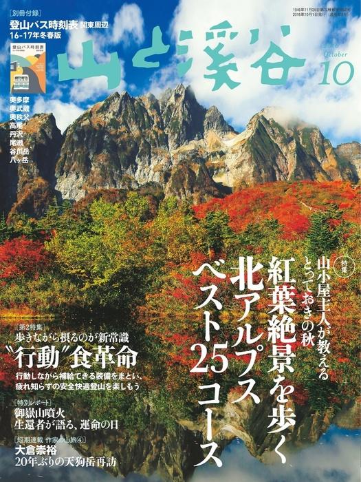 山と溪谷 2016年 10月号 [雑誌]拡大写真