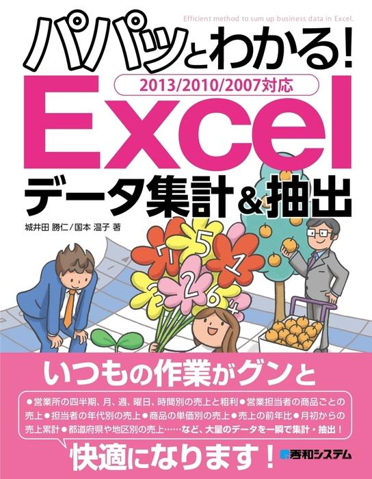 パパッとわかる! Excelデータ集計&抽出 2013/2010/2007対応-電子書籍-拡大画像
