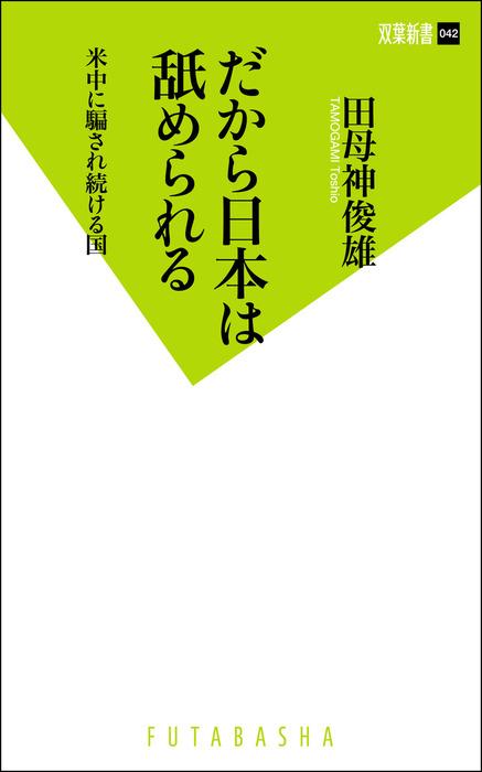 だから日本は舐められる-電子書籍-拡大画像
