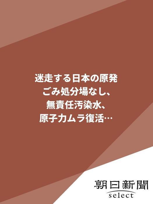 迷走する日本の原発 ごみ処分場なし、無責任汚染水、原子力ムラ復活…拡大写真
